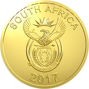 2017 OR Tambo Gold Obverse Coin