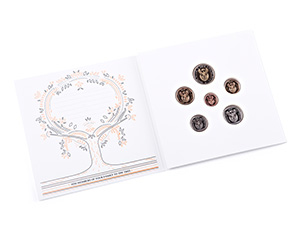 RSA Proof Currency Coin Set - The Baby Set