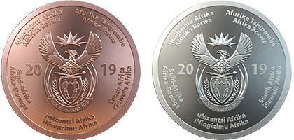 Celebrating SA Combined OBV - SA Mint unveils new R50 and R500 coins to commemorate 25 years of democracy in SA
