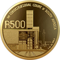 Celebrating SA R50 Gold REV 1 - SA Mint unveils new R50 and R500 coins to commemorate 25 years of democracy in SA