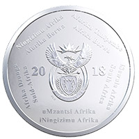 2018 FIFA World Cup Coin Obverse