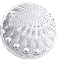 2018 FIFA World Cup Coin Reverse