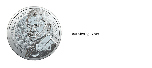 2017 OR Tambo R50 Sterling Silver Coin