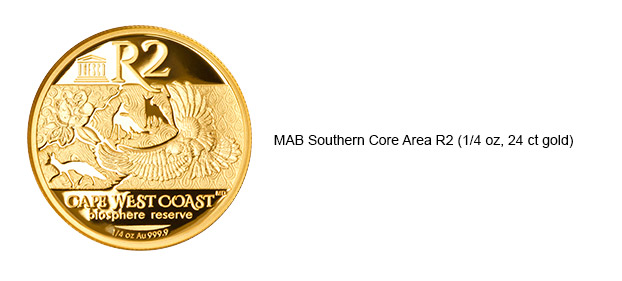 MAB Southern Core Area R2 1/4oz 24ct Gold