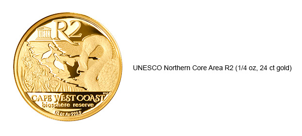 UNESCO Northern Core Area R2 1/4oz 24ct Gold