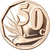 SA Mint - Circulation coins - 50c