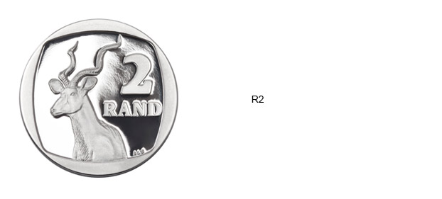 SA Mint Circulation Coins - R2