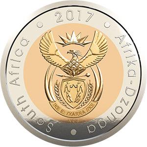 2017 OR Tambo Circulation Coin Obverse