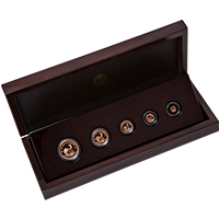 2018 Krugerrand Fractional 5 Coin Set