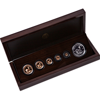 2018 Krugerrand Fractional 6 Coin Set with Silver