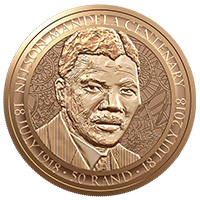2018 Mandela Centenary - The South African Mint Company