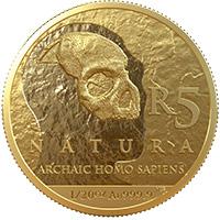 R5 1/20oz Gold: Homo Sapiens