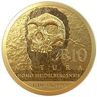R10 1/10oz Gold: Homo Heidelbergensis