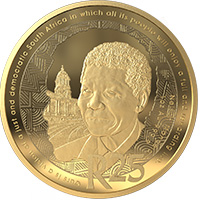 R25 24ct 1oz Gold Coin