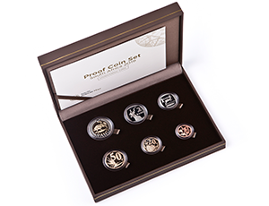 SA Mint - Circulation coins - Proof Currency Coin Set