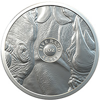 Big 5 Rhino 1oz Silver AG 999