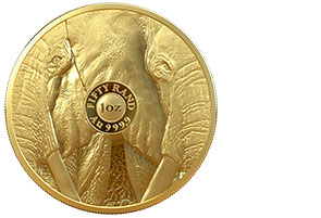R50 Big 5 Elephant 1oz Gold Proof