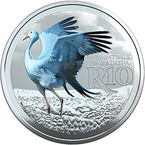 Sterling Silver Blue Crane