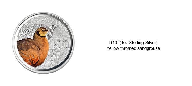 Colour-Coins-R10-Yellow-Throated-Sandgrouse