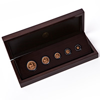 2019 Krugerrand Fractional 5 Coin Set