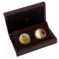 Big 5 Lion and Krugerrand Proof Set – Gold