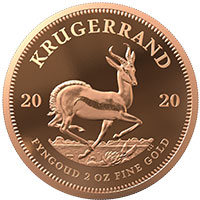 2oz Gold Proof Krugerrand
