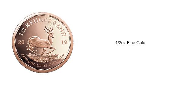 Krugerrand-Half-oz-coin