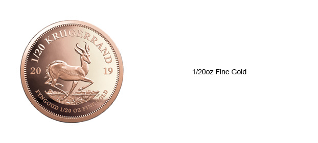 Krugerrand-Twentieth-oz-coin