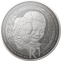 R1 Silver Uncirculated Coin