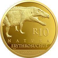 R10 ¼ oz gold: Erythrosuchus