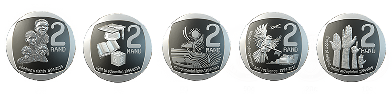 R2 Commemorative Circulation Coins