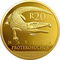 R20 ¼ oz gold: Proterosuchidae