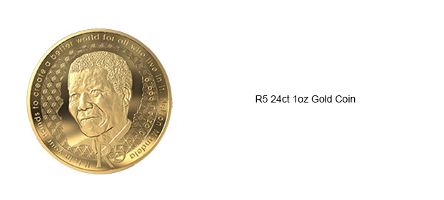 Miniature Coins South African Krug   Gold Color 25