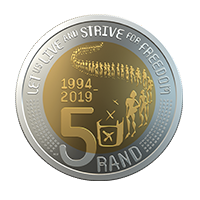 R5 Commemorative Circulation Coin