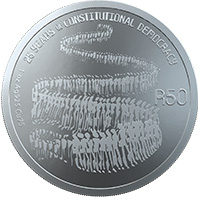 R50 1oz Sterling-Silver Coin