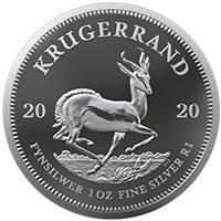 1oz Fine-Silver Proof Krugerrand