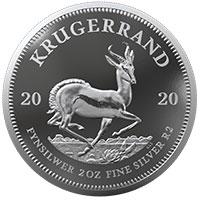 2oz Fine-Silver Proof Krugerrand