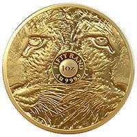 R50 Big 5 Rhino 1oz Gold Proof