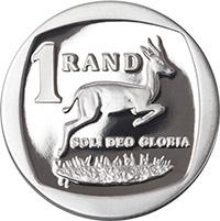 SA Mint - Circulation coins - R1