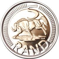 SA Mint - Circulation coins - R5