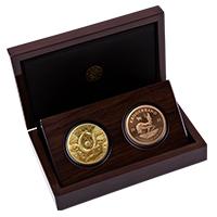 Big 5 Buffalo and Krugerrand Proof Set – Gold