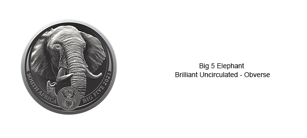 SA-Mint-Big-5-Elephant-Collection-II-Brilliant-Uncirculated-Obverse-Slide
