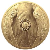 R50 Big 5 Elephant 1oz Gold Proof