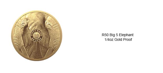 SA-Mint-Big-5-Elephant-Collection-II-Quarter-oz-Gold-Proof-Reverse-Slide