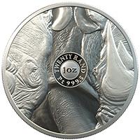 Big 5 Elephant 1oz Silver AG 999