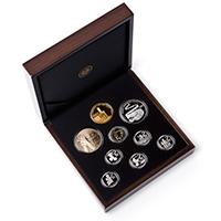 2019 SA25 9 Coin Prestige Set