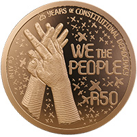 R50 1oz Bronze Alloy Coin