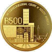R500 1oz 24ct Gold Coin