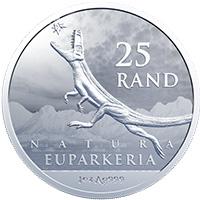 R25 1oz fine-silver: Euparkeria capensis