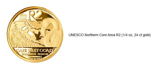 UNESCO Northern Core Area R2 1/4oz 24ct Gold